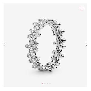 PANDORA Daisy Flower Ring (Silver) 54mm=7US